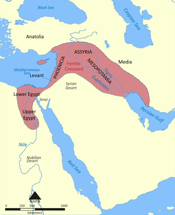 中東の三日月地帯