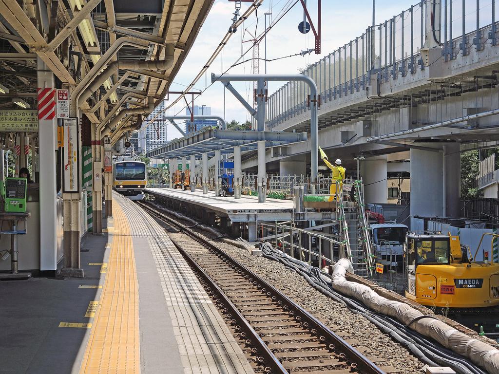 千駄ヶ谷駅(新宿区)-2-18.10
