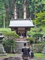 黒森神社にて
