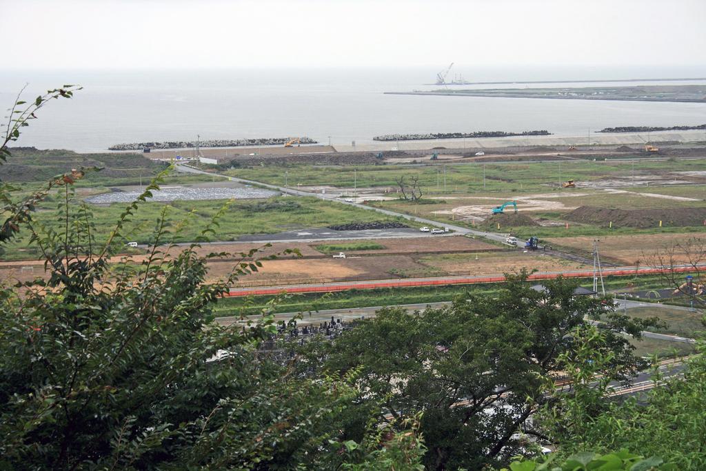 日和山から南浜方面(石巻市)-1-18.09