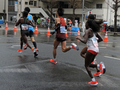 東京マラソン2019、泉岳寺交差点(港区)-7-19.03