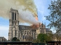 ノートルダム大聖堂、火災(パリ)