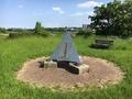 「多摩川決壊の碑」(狛江市)