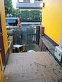 台風一過のわが家、玄関前-1-19.09
