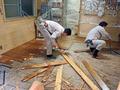 わが家、床暖工事-1-19.09