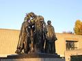 国立西洋美術館、カレーの市民(台東区・上野公園)-1-19.11