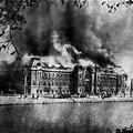 ノートルダム寺院、火災
