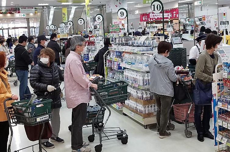 スーパーさんわ(新コロ渦中、横浜市青葉区)-2-20.05