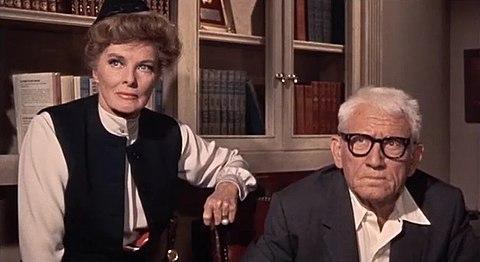 スペンサー・トレイシーとキャサリン・ヘプバーン
