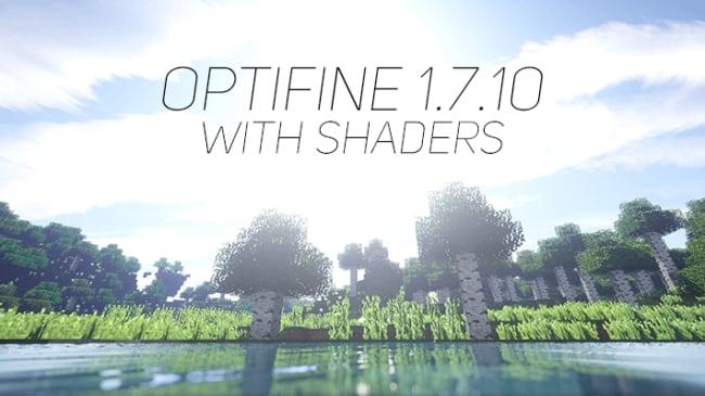 Optifine11710シェーダー