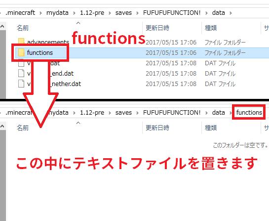 functionsフォルダー