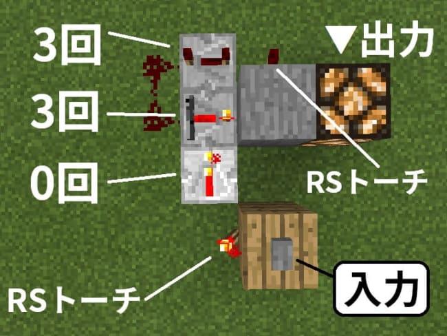 ボタンを押す度にオンオフが切り替わるトグル回路の作り方