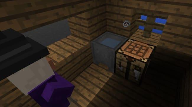 ウィッチの小屋の中