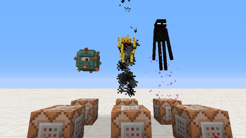三大奇形Mobのジャンプ