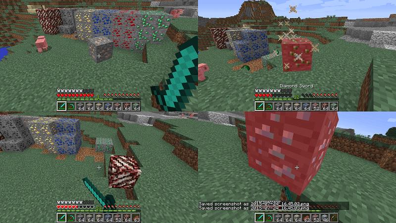 ありとあらゆる鉱石が襲ってくる。
