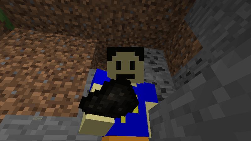 木炭をゲットした彼