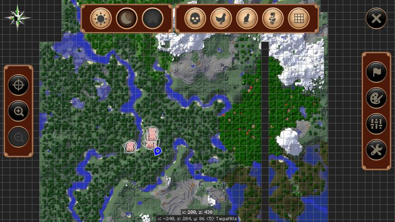 JourneyMapの全体マップ