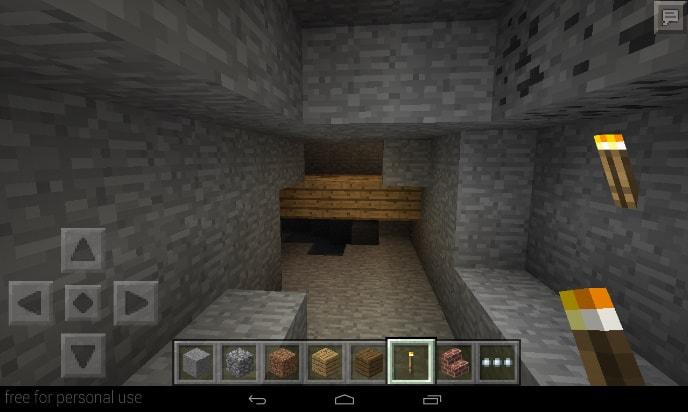 孤島の地下に廃坑