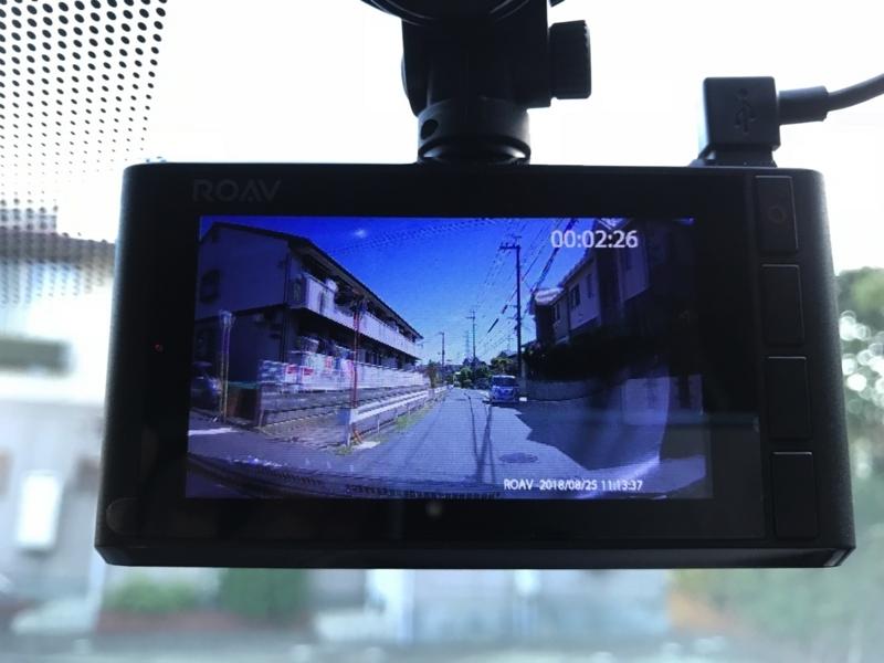 AnkerドライブレコーダーC2の動画再生