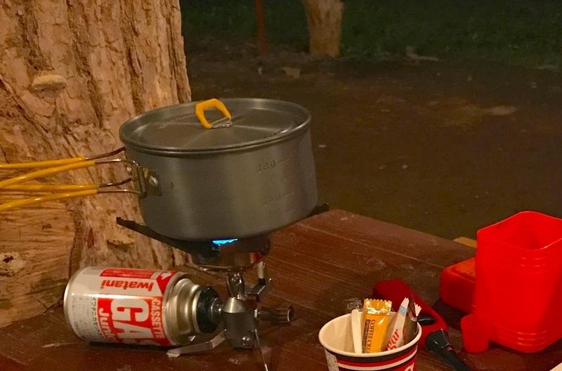 ソロキャンプ用ストーブ