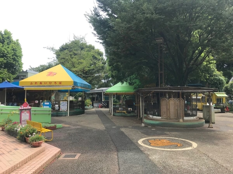 町田リス園の園内