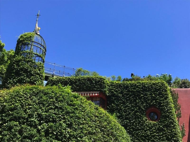 三鷹の森ジブリ美術館の外観