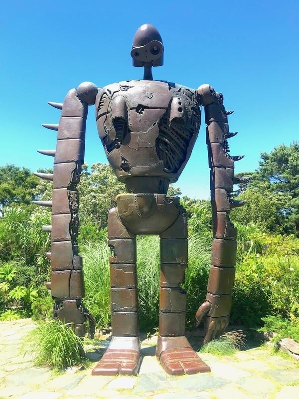 三鷹の森ジブリ美術館のラピュタのロボット