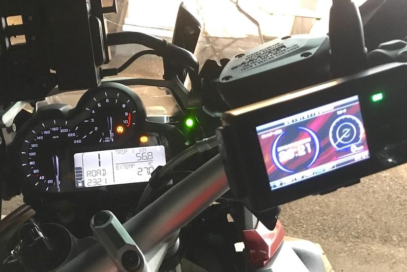 バイク用レーダー探知機