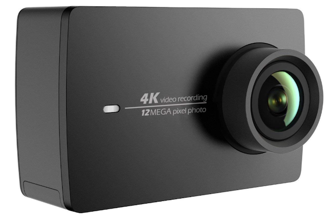 YI 4K アクションカメラ 155°広角レンズ