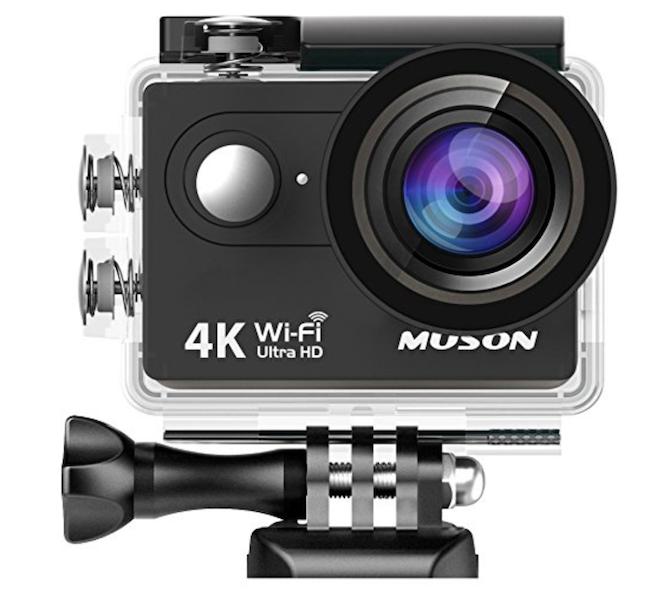 MUSON(ムソン)アクションカメラ MC2 Pro1