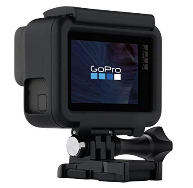 GoProの液晶画面