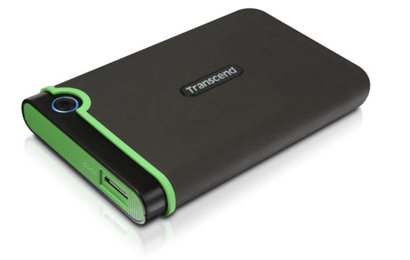 トランセンド ポータブルハードディスク 1TB TS1TSJ25M3