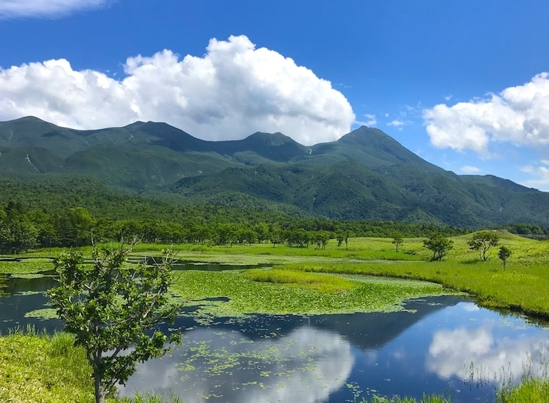 知床五湖の風景