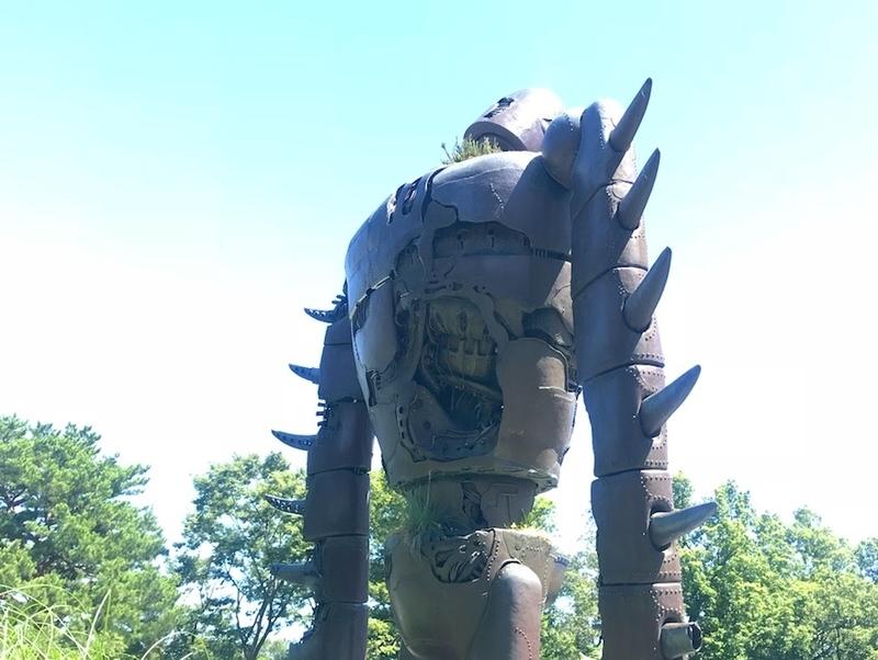ラピュタの古代ロボット