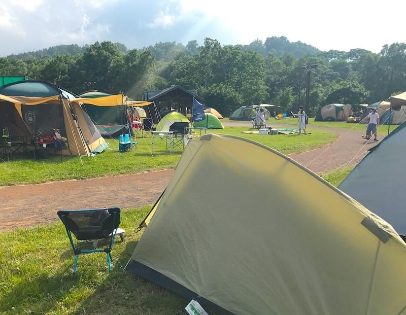 日本一周の宿泊方法:キャンプ場