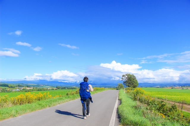徒歩で日本一周