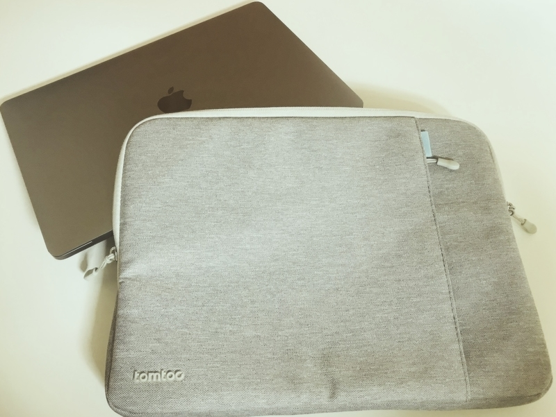 tomtoc 360°保護 耐衝撃 インナーケースとMacBookPro