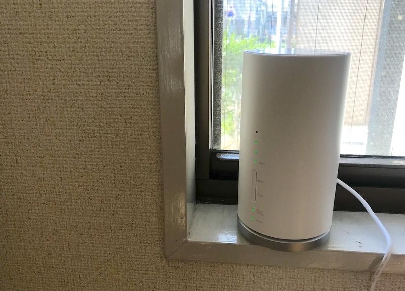WiMAXの据え置き型モバイルルーター