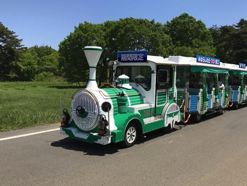 国営ひたち海浜公園の乗り物(電車)