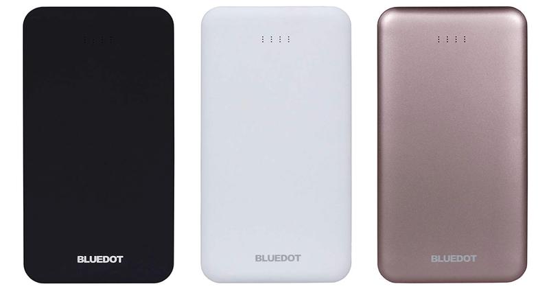 BLUEDOT モバイルバッテリー(10000mAh・2ポート)