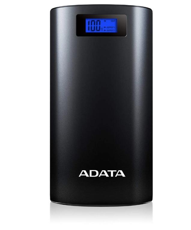 ADATA 20000mAh AP20000D-DGT-5V(20000mAh・2ポート)