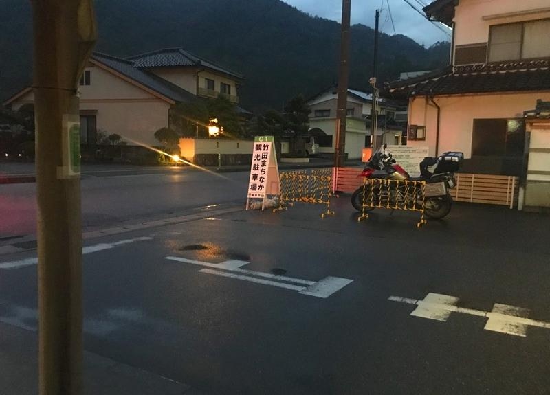 竹田城のまちなか観光駐車場