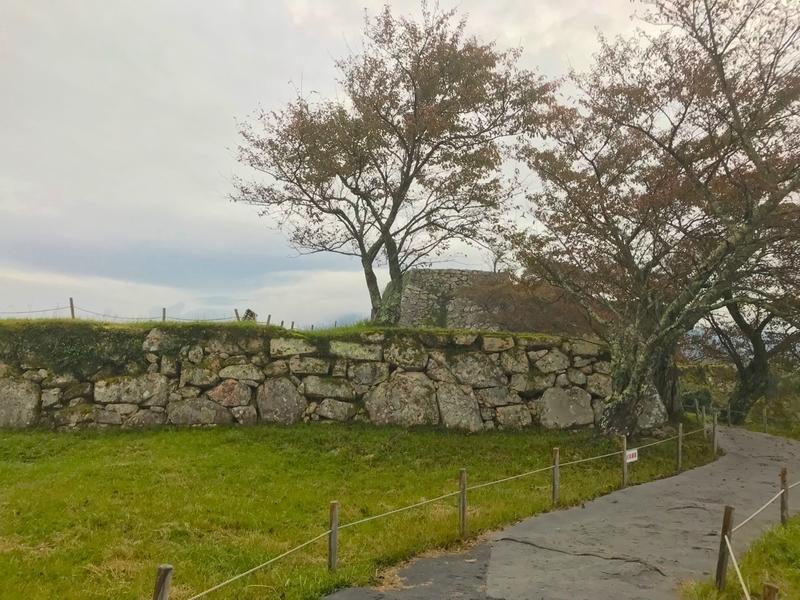 天空の城 竹田城の風景
