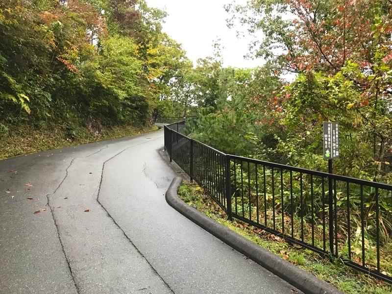 天空の城 竹田城への道(中腹駐車場からのアクセス)