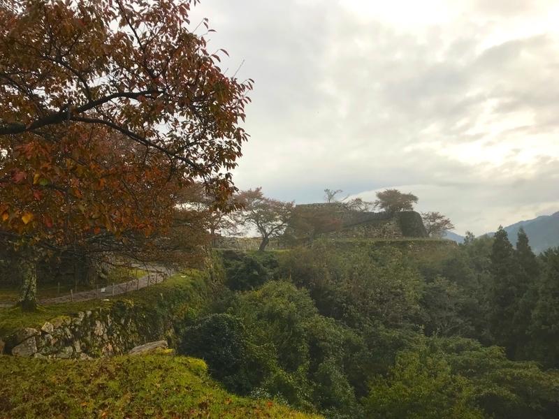 天空の城 竹田城からの眺め