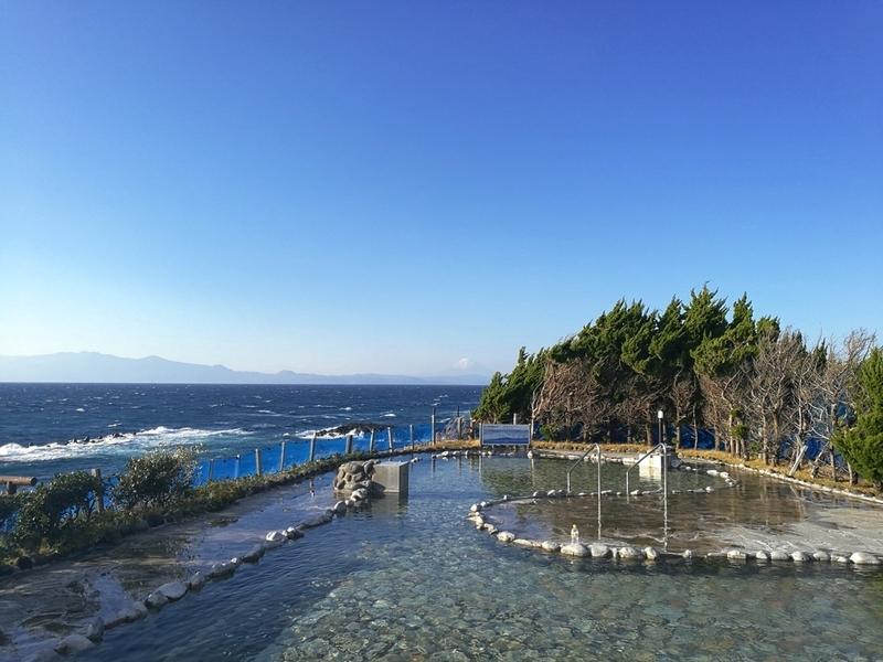 伊豆大島の元町浜の湯
