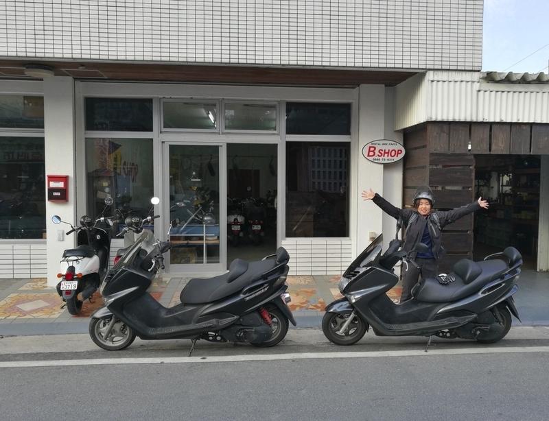 宮古島のレンタルバイクショップ「B.SHOP」