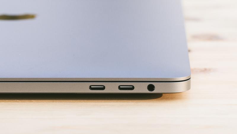MacBookProのUSBタイプCポート