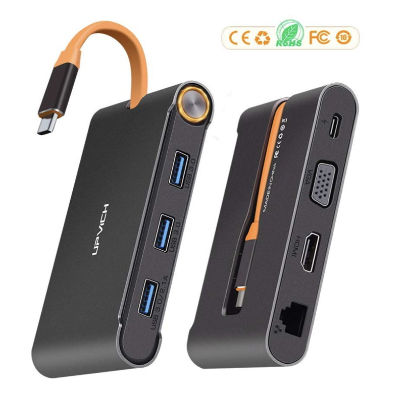 PVICH USB C TYPE-C ハブ