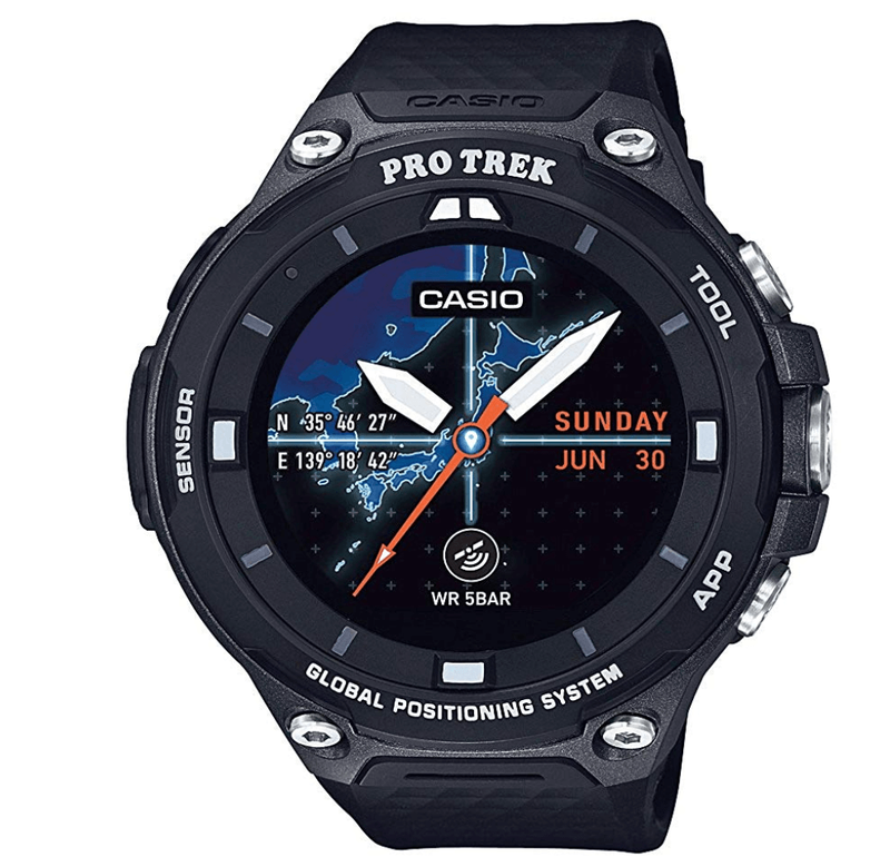 CASIO プロトレックスマート WSD-F20